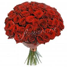 """Букет из роз """"Ред Наоми"""""""